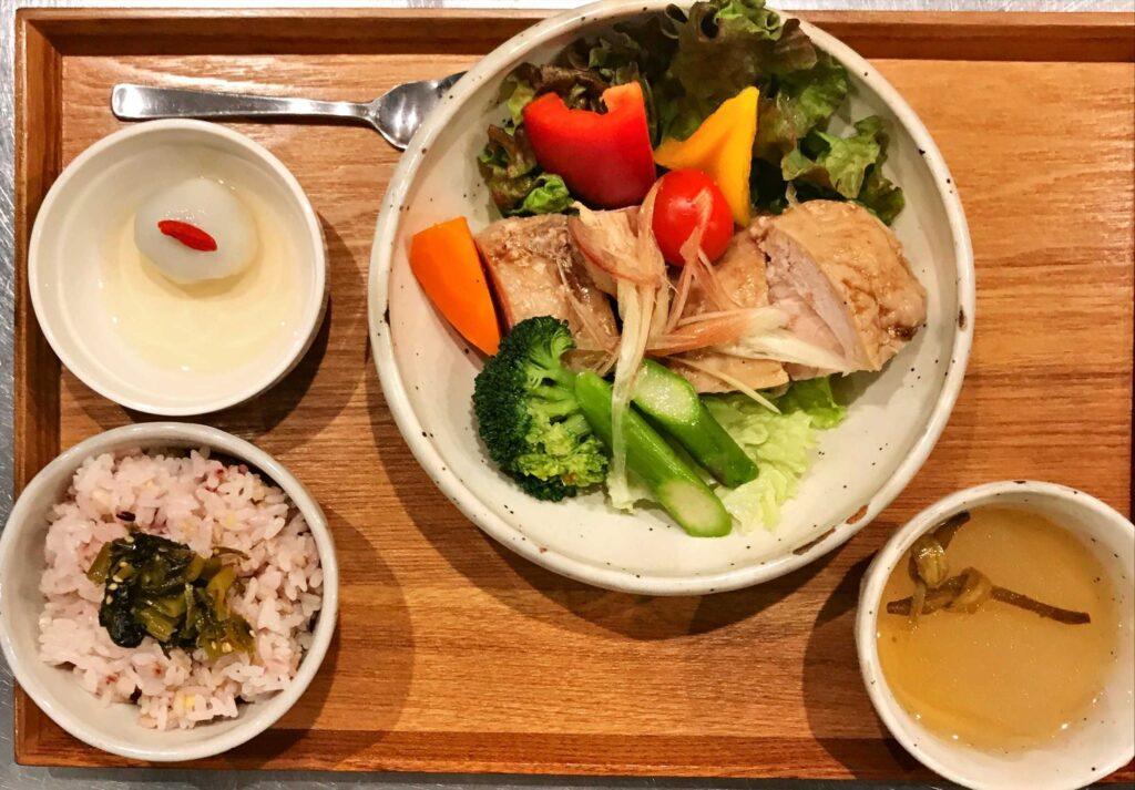 鹹水鶏(シェンスェチ)ランチ